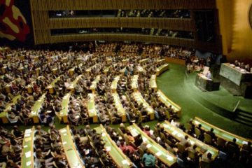 The UN in chamber.