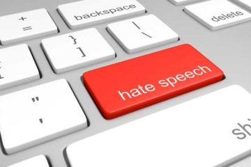 hate speech button on keyboard