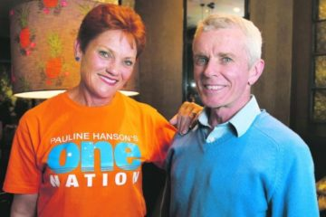 Pauline Hanson and Malcolm Roberts