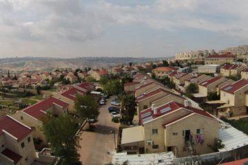 The West Bank settlement of Kochav Yaakov.