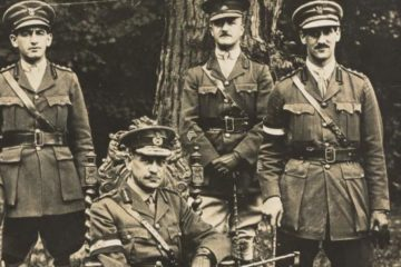 John Monash and his staff