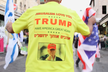 Trump Supporter in Israel