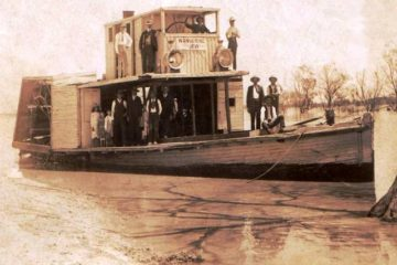 The Wandering Jew paddleboat