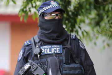 anti-terrorism police member