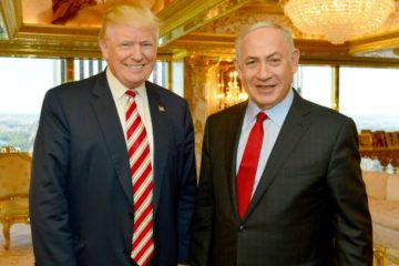 Donald Trump and Bibi Netanyahu