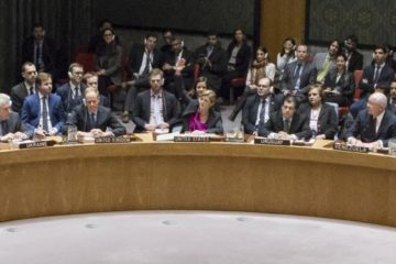 UN Security Council with Samantha Power