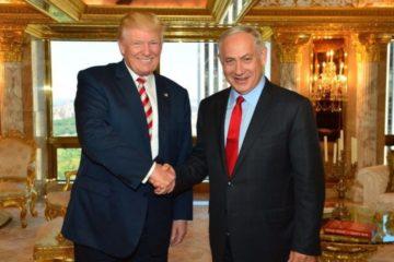 Donald Trump and Prime Minister Netanyahu