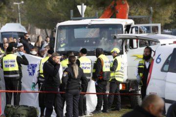 scene of Jerusalem terror attack
