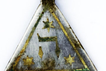 Pendant excavated at Sobibor