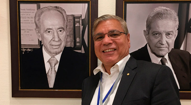 Warren Mundine in Israel