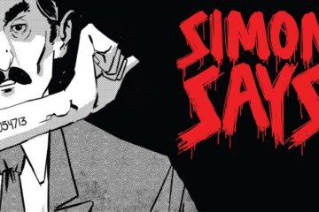comic drawing of Simon Wiesenthal