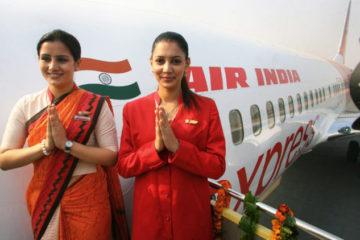 Air India flight attendants