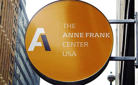 Anne Frank Center sign