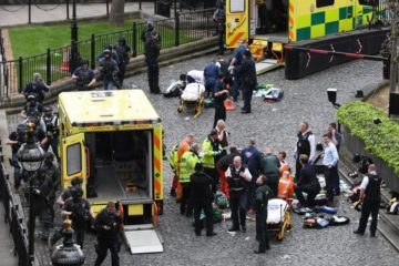 site of yesterday's London bombing