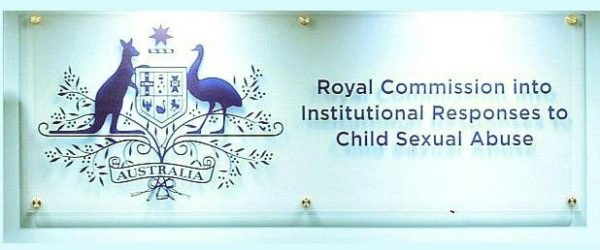 sign for the Royal Commission