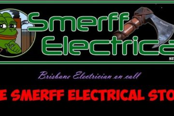 Smerff electrical logo
