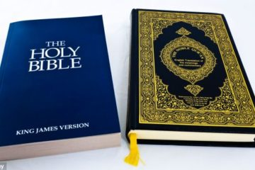 a new testament and a koran