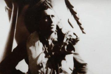 Joe posing in his RAF uniform