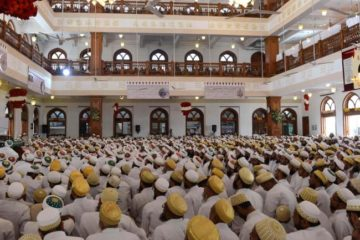 a mosque full of moslems