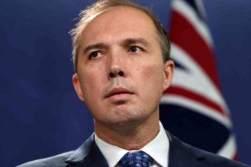 Peter Dutton face