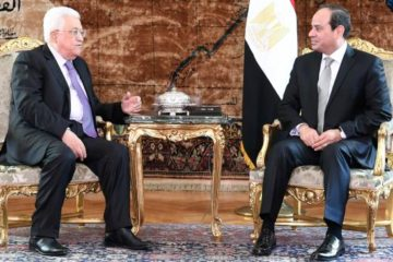 Abbas and Sissi sitting in official meeting