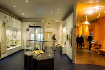 Inside the Jewish museum
