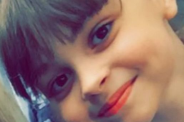 close up of Saffie's smiling face