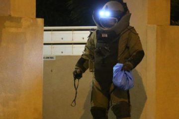 bomb squad officer