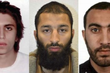 headshots of the three london terrorists