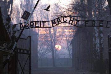 the arbeit macht frei sign at auschwitz