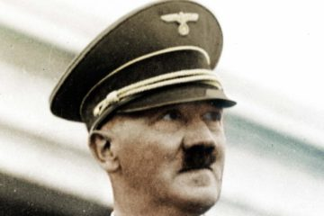 Hitler close up