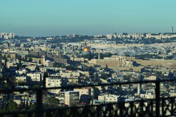view from balcony of jerusalem