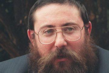 close up of Rabbi Gutnick