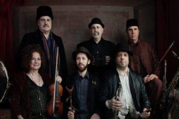 The six members of Klezmatics posing