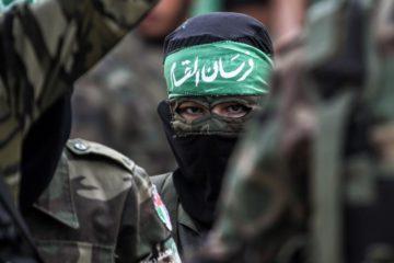 a masked fatah member
