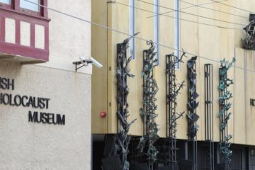 exterior of the Melbourne Holocaust Museum