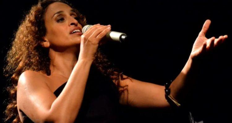 singing in concert onstage