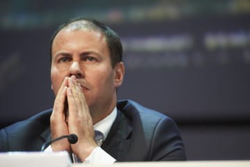 Frydenberg looking pensive