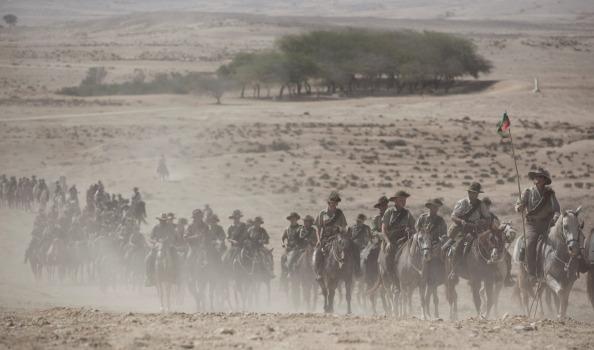lighthorse in Israel now in the desert
