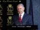 screen grab of Bibi speaking at an event