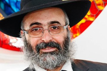 front on headshot of Rabbi Meir Shlomo Kluwgant